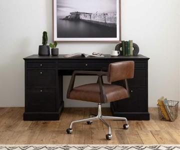 farmhouse desk chair