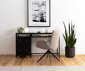 Modern desk chair and writing desk