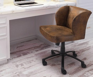 Rustic desk chair