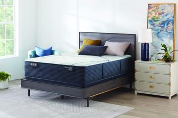 Serta Mattress in bedroom
