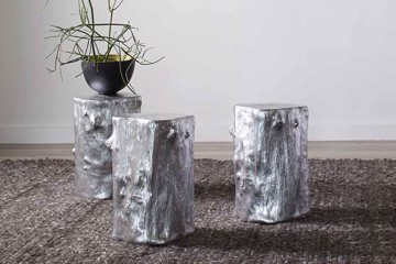 silver stools