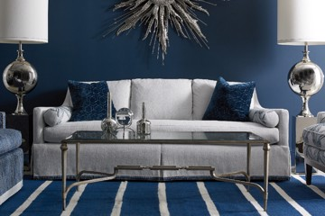 Sherrill Sofa with cocktail table