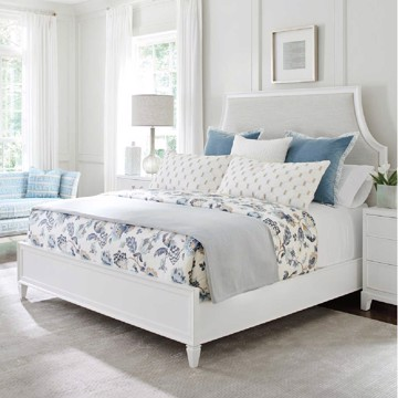 Lexington upholstered bed