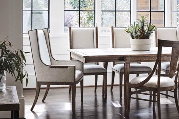 Echoes collections dining table and chairs