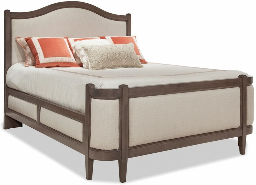 Durham Furniture - Grand Upholstered Bed, Queen