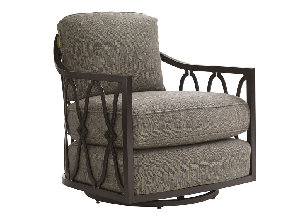 Lexington - Royal Kahala Black Sands Swivel Tub Chair