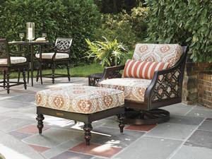 Thumbnail of Lexington - Royal Kahala Black Sands Swivel Rocker Lounge Chair