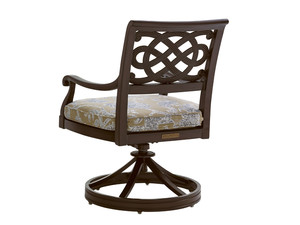 Thumbnail of Lexington - Royal Kahala Black Sands Swivel Rocker Dining Chair