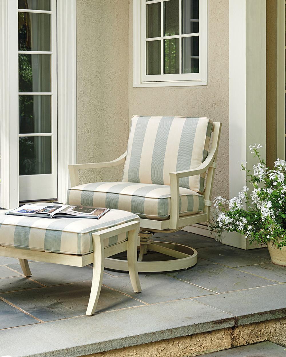 Lexington - Misty Garden Swivel Rocker Lounge Chair