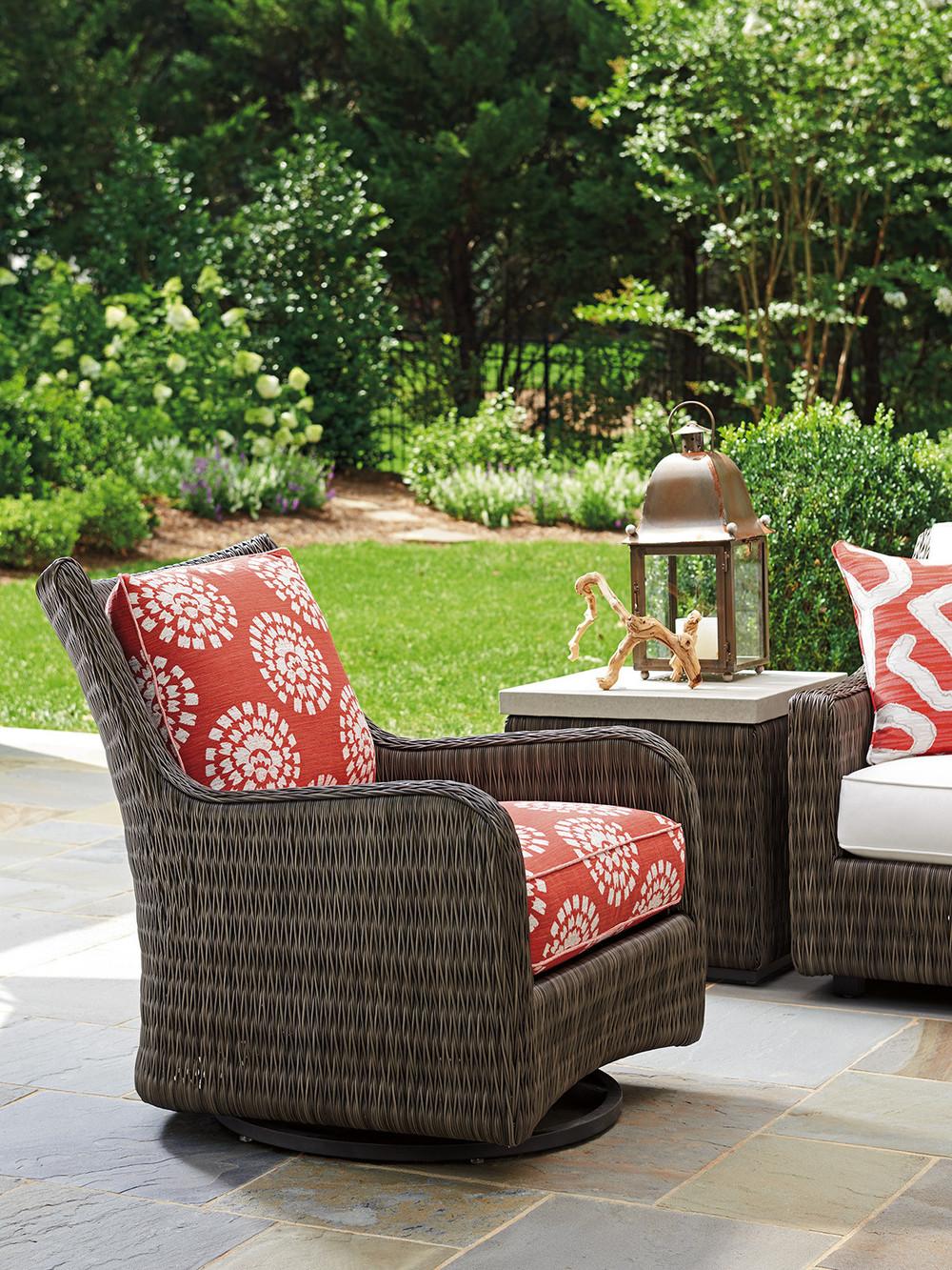 Lexington - Cypress Point Ocean Terrace Occasional Swivel Glider Chair