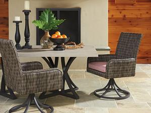 Thumbnail of Lexington - Cypress Point Ocean Terrace Swivel Rocker Dining Chair