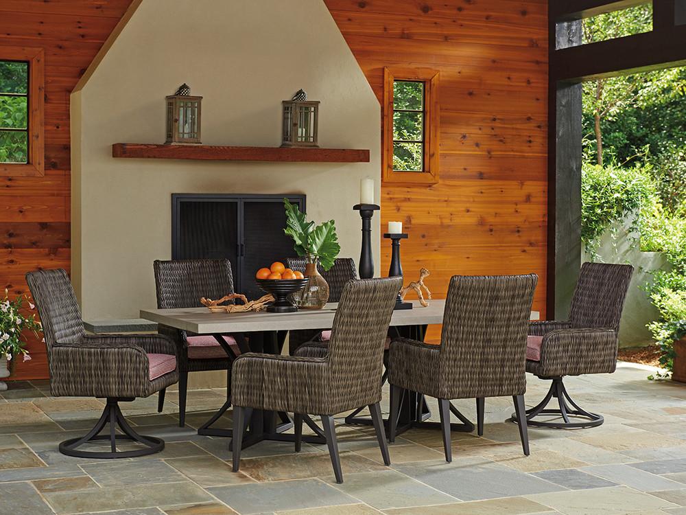 Lexington - Cypress Point Ocean Terrace Swivel Rocker Dining Chair