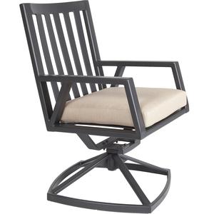 Thumbnail of O.W. Lee - Swivel Rocker Dining Arm Chair