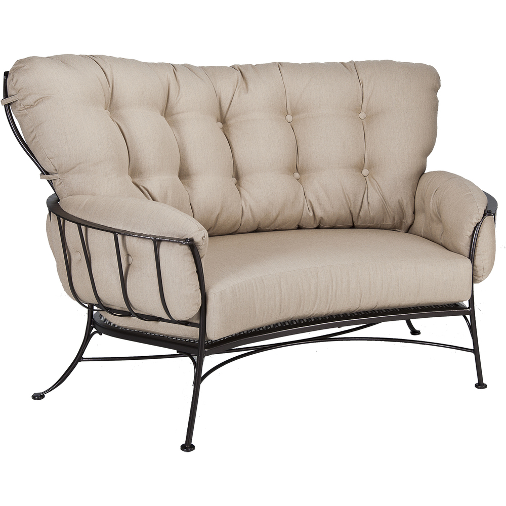 O.W. Lee - Crescent Loveseat