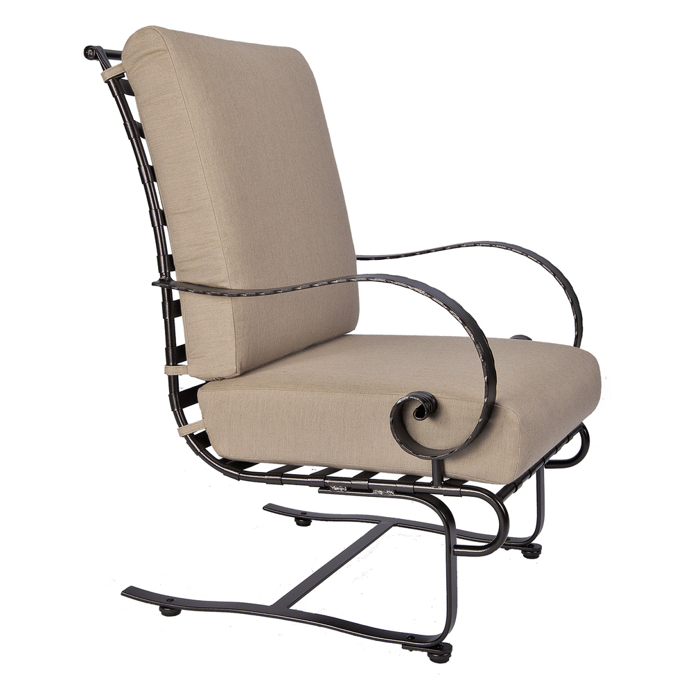 O.W. Lee - Hi-Back Spring Base Lounge Chair