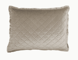Thumbnail of Lili Alessandra - Chloe Diamond Quilted Standard Pillow