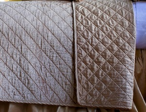 Thumbnail of Lili Alessandra - Chloe Diamond Quilted King Pillow