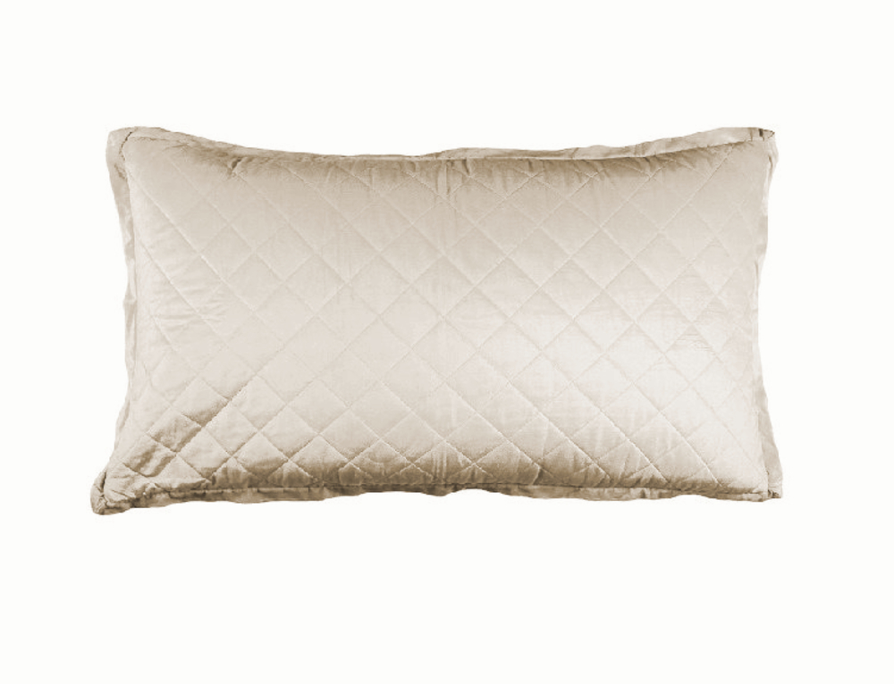Lili Alessandra - Chloe Diamond Quilted King Pillow