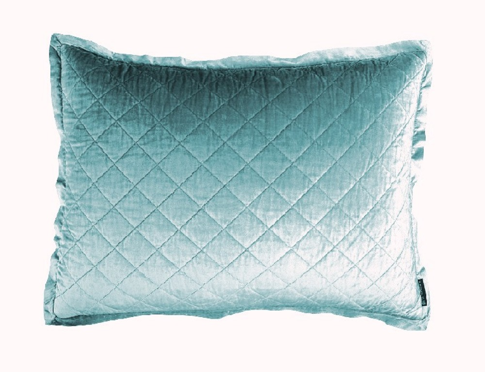Lili Alessandra - Chloe Diamond Quilted Standard Pillow