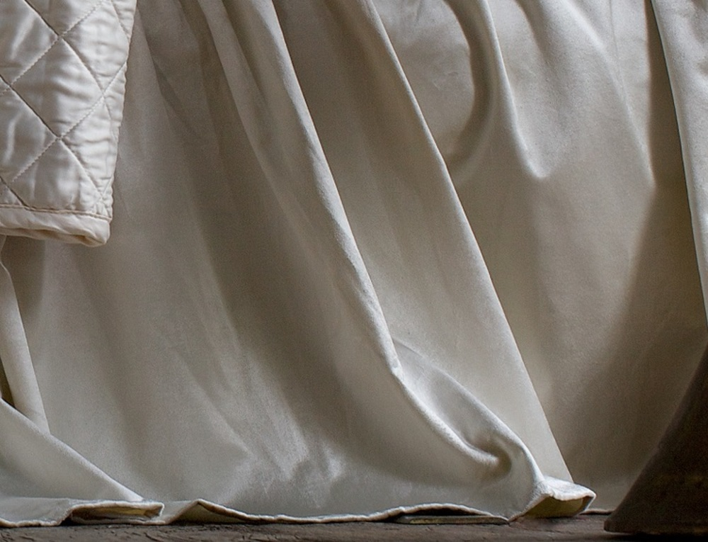 Lili Alessandra - Chloe Gathered 3 Panel Bed Skirt