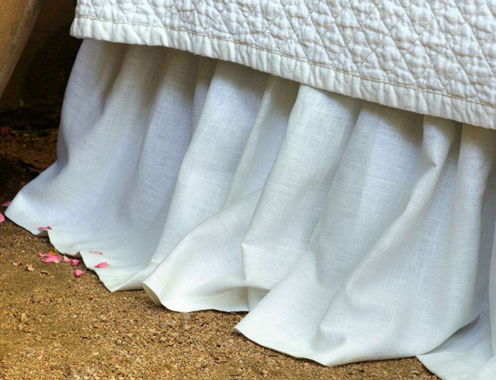 Lili Alessandra - Emily Gathered 3 Panel Bed Skirt