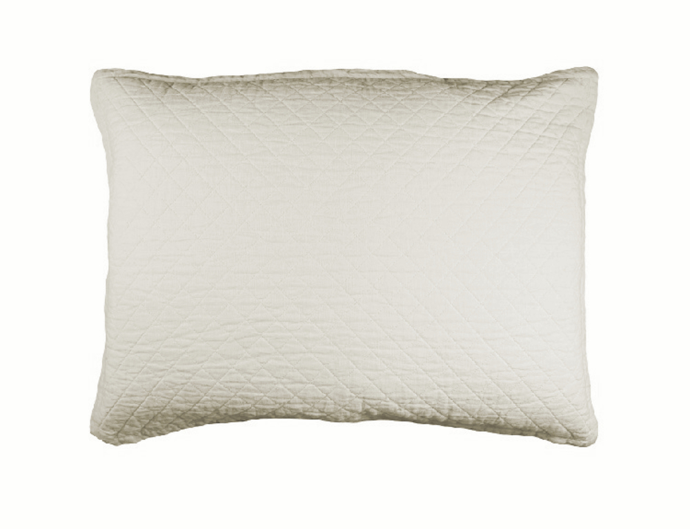 Lili Alessandra - Emily Diamond Quilted Luxe Euro Pillow