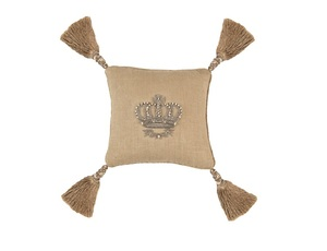 Thumbnail of Lili Alessandra - Imperial Crown Small Square Pillow