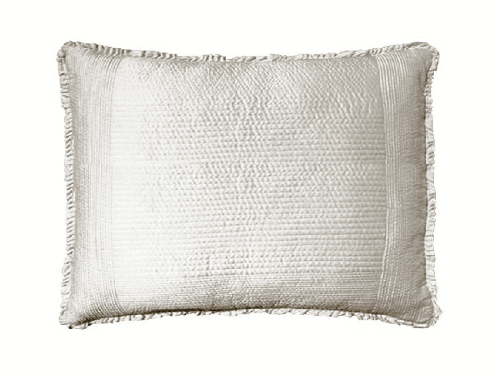 Lili Alessandra - Battersea Quilted Standard Pillow