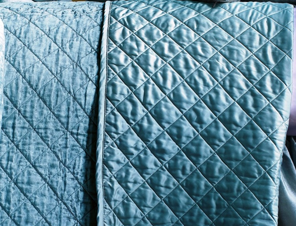 Lili Alessandra - Chloe King Diamond Quilted Coverlet