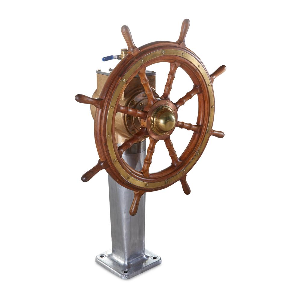 GJ Styles - Brass & Aluminium Steering Machine