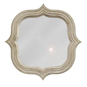 Thumbnail of GJ Styles - Quatrefoil Mirror, Antique White