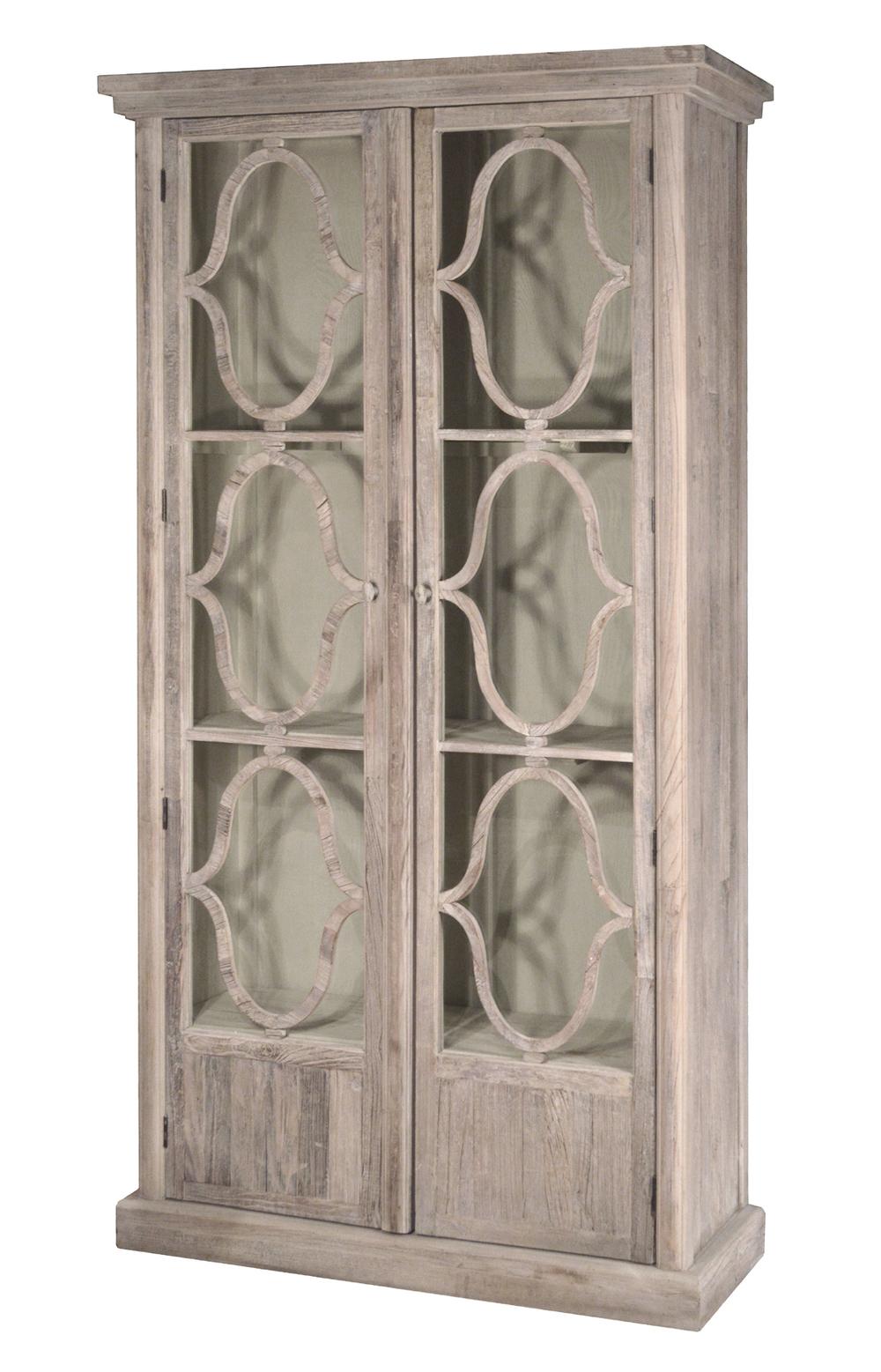 GJ Styles - Decorative Glass Cabinet