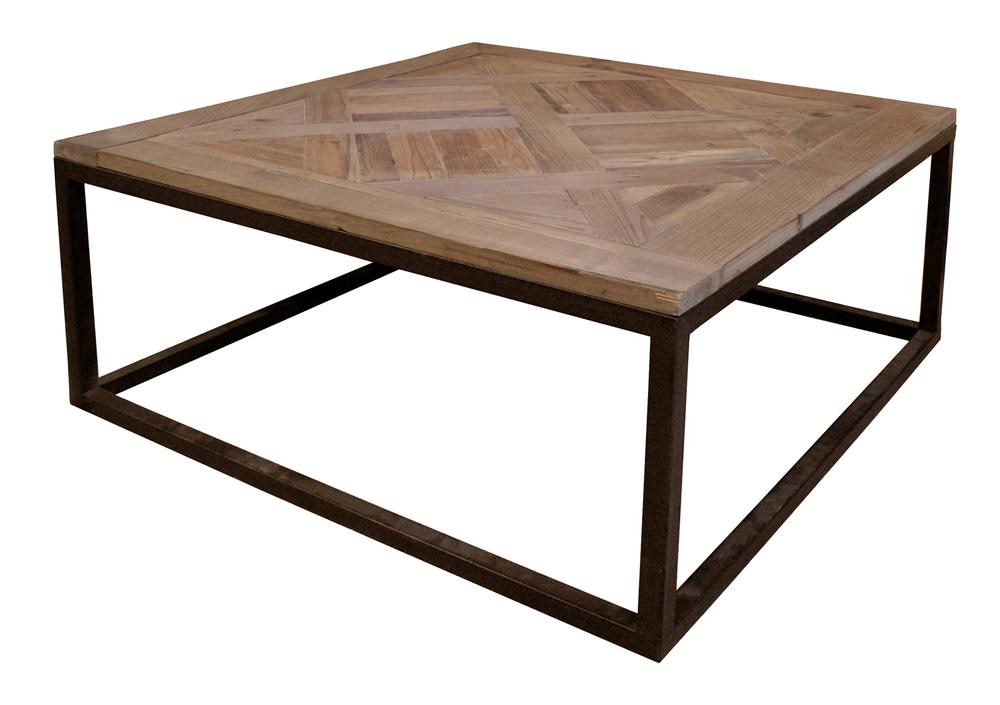 GJ Styles - Parquet Top Coffee Table
