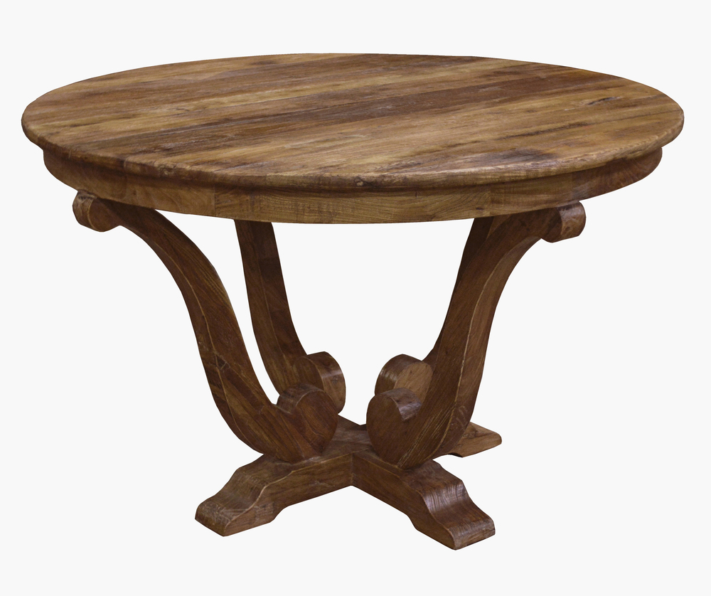 GJ Styles - Old Elm Breakfast Table