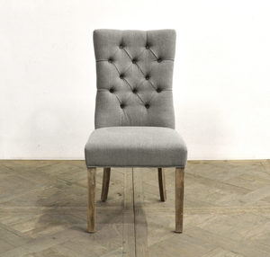 Thumbnail of GJ Styles - Tufted Linen Side Chair