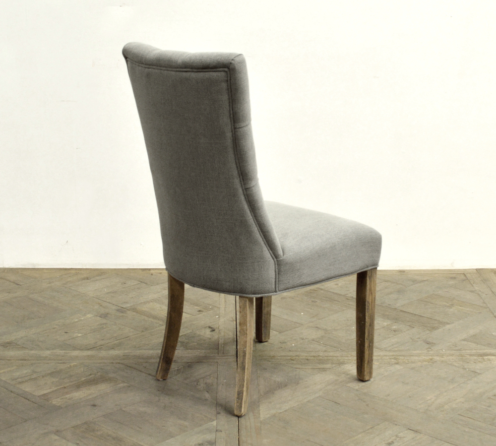 GJ Styles - Tufted Linen Side Chair