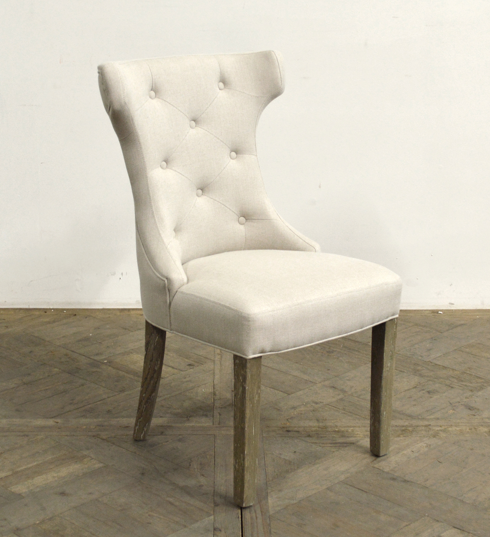 GJ Styles - Scoop Back Tufted Side Chair