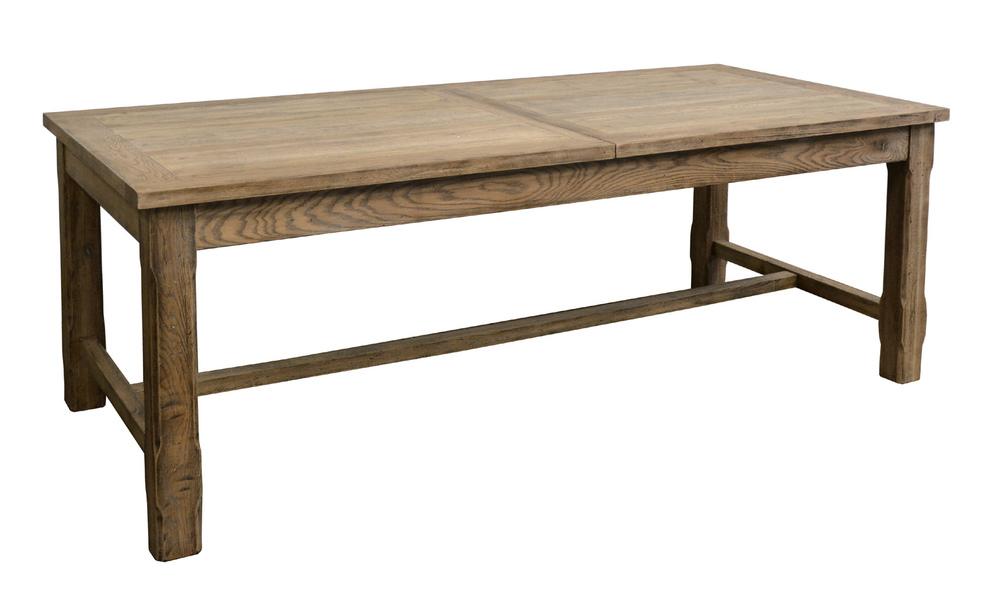 GJ Styles - Oak Extending Table with Square Leg