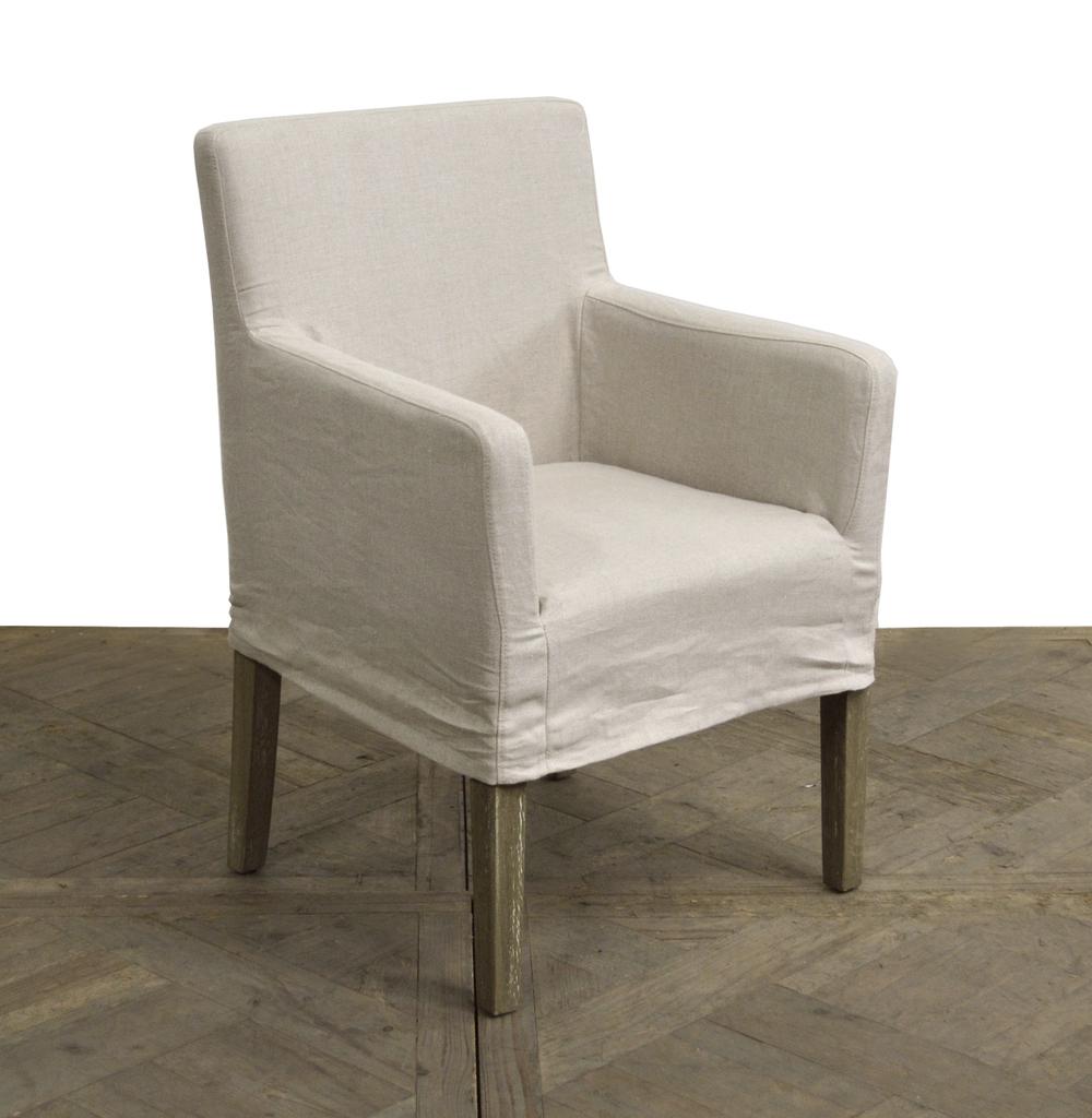 GJ Styles - Slipcovered Arm Chair