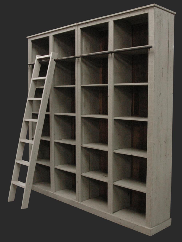 GJ Styles - Luberon Bookcase, Boston Grey