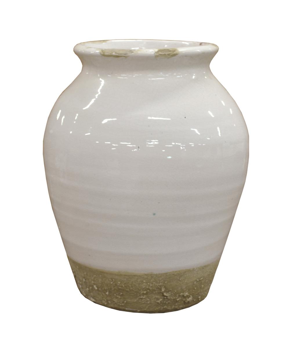 GJ Styles - Small Xian Rounded Terracotta Vase
