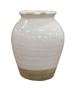 Thumbnail of GJ Styles - Small Xian Rounded Terracotta Vase