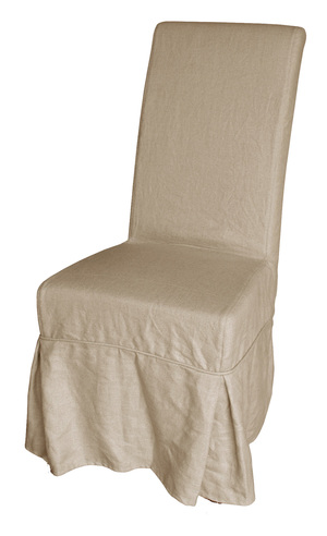 Thumbnail of GJ Styles - Slipcovered Dining Chair with Bow Detail