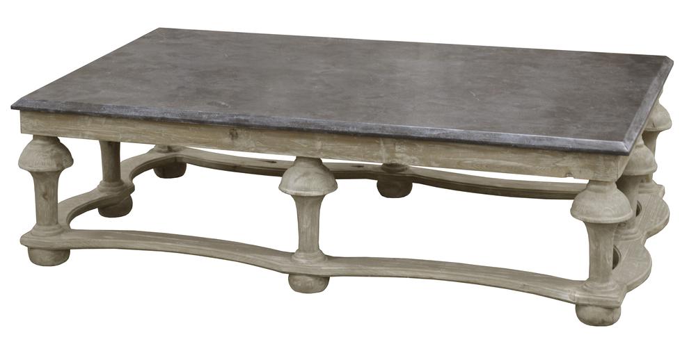 GJ Styles - Stone Top Coffee Table