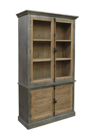 Thumbnail of GJ Styles - Zinc Wrapped Bookcase