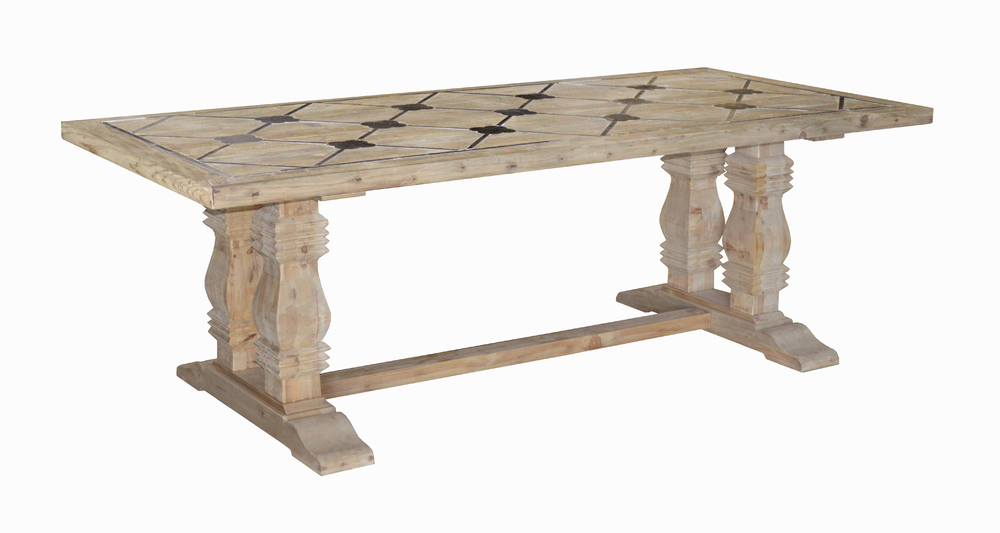 GJ Styles - Pine Dining Table