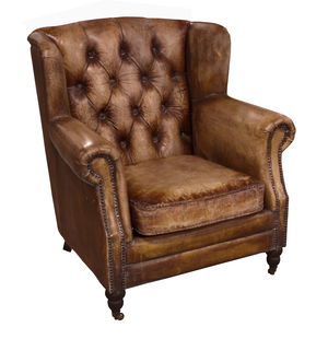 Thumbnail of GJ Styles - Florence Leather Arm Chair