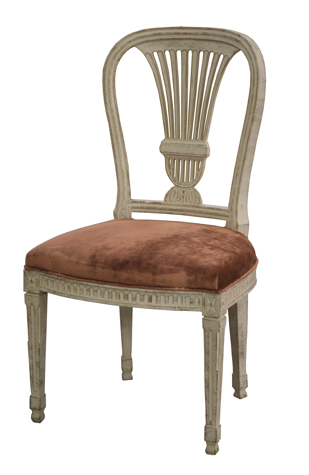 GJ Styles - Erica Side Chair with Crushed Velvet Seat