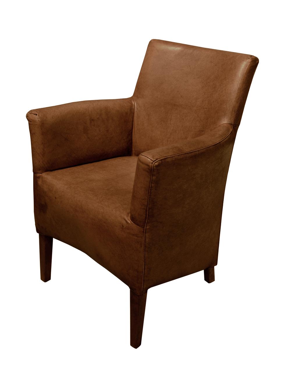 GJ Styles - Nils Arm Chair, Light Brown Buffalo
