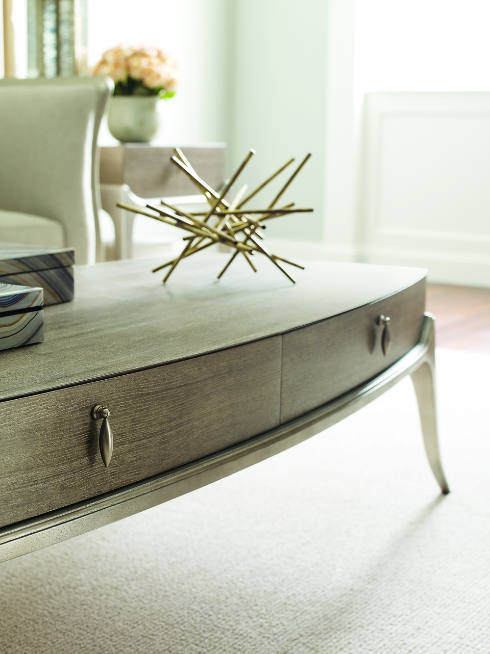 Caracole - Storage Cocktail Table